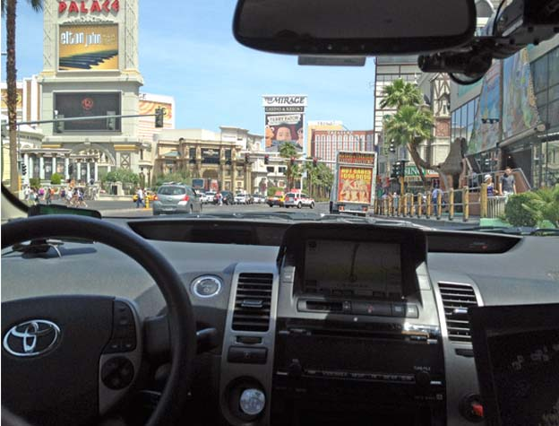 Driving on the Strip