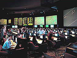 Sports Book at Caesar's